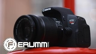 Canon EOS 700D 18-55 kit видеообзор. Обзор фотоаппарата Canon EOS 700D 18-55 kit от FERUMM.COM