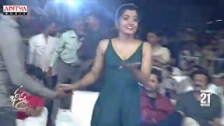 Jonny Master Rashmika Dance on Stage @ Bheeshma Pre Release Event - ADITYAMUSIC