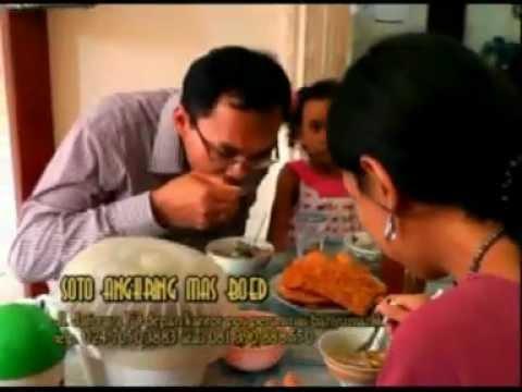 soto angkring mas boed banyak pelangganya, khas semarang jawa tengah soto ayam kampus asli