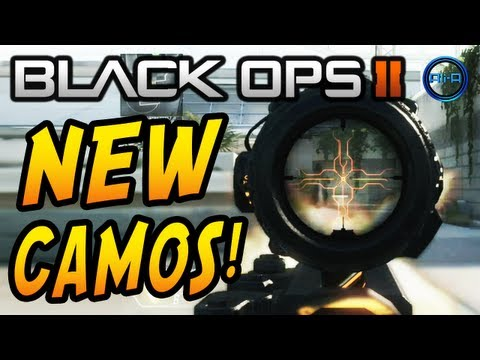 Black Ops 2 NEW CAMOS Trailer - DRAGON, COMIC BOOK, CYBORG & PALADIN Camo DLC!