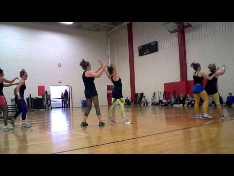 UNC Aerobics Demo Team