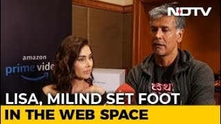 In Conversation With Lisa Ray & Milind Soman - NDTV
