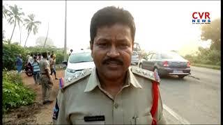 Road Mishap | Lorry Hits Ambulance | 2 Lost Life | Srikalahasti Mandal | Chittoor Dist | CVR NEWS - CVRNEWSOFFICIAL