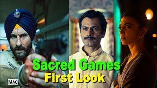 Saif Ali Khan's 'Sacred Games' First Look - IANSINDIA