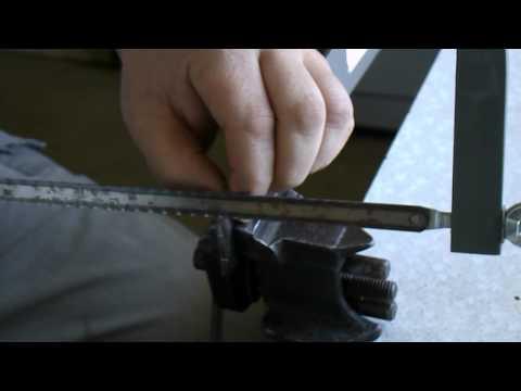 Самодельная ручка на ножовку