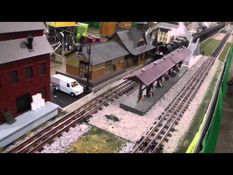 National Capital Trackers O-Gauge Trains at Chantilly, VA, August 2013