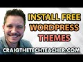 WordPress Template Free