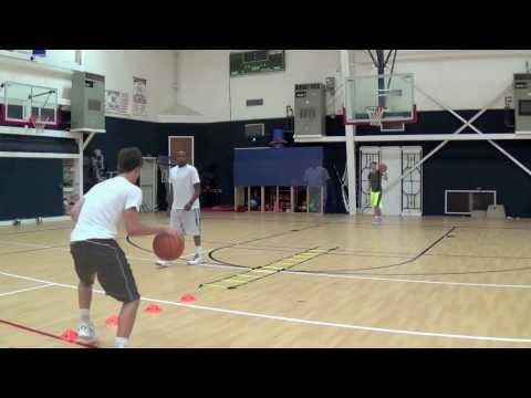 Basketball Drills - Advanced ball handling / footwork