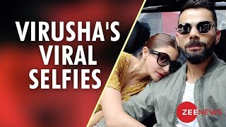 Virushka's Viral Selfies Is All You Want To See Today - ZEENEWS