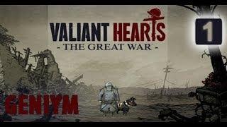 Valiant Hearts The Great War Прохождение. Часть 1