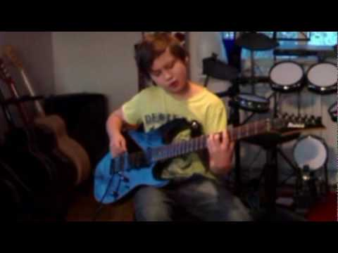 Children of Bodom - Kissing The Shadows Guitar cover