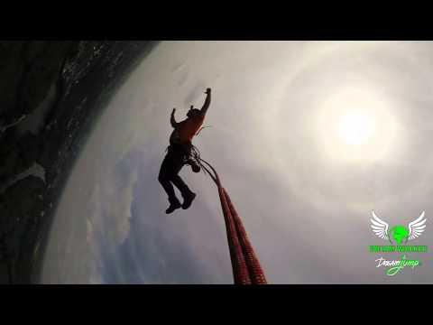 Go Pro Hero 3+ Black 48fps, 120fps, 240fps - Highest rope jump in Europe - Dream Jump 222m