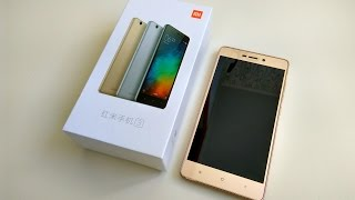 Unboxing Xiaomi Redmi 3 Pro (3/32) В ЦЫГАНСКОМ ЦВЕТЕ!