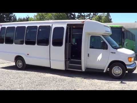 Northwest Bus Sales - 2004 Ford Krystal 28 Passenger Shuttle Bus For Sale - S27826