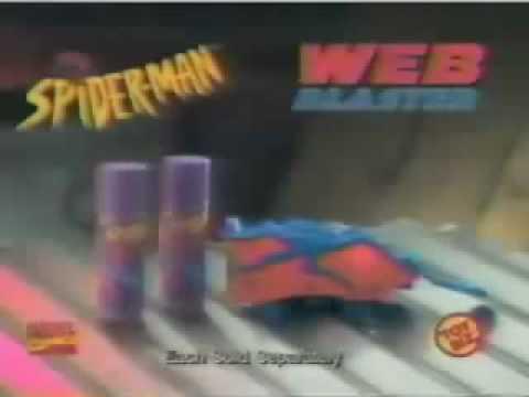 Spider-Man Web Blaster ad - 1997