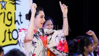Karisma Kapoor Attends A School's Annual Day Celebration - THECINECURRY