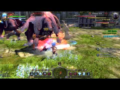 Dragon Nest Sword Master Minotaur Nest Solo