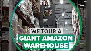 How Amazon ships its biggest and bulkiest stuff (CNET News) - CNETTV
