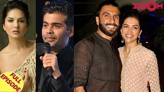 Sunny reacts to Karan's comment against item numbers |Ranveer on Deepika's role in his career & more - ZOOMDEKHO