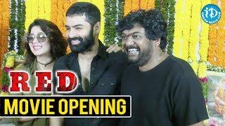 Ram Pothineni Speech @ RED Movie Launch | Puri Jagannath | Charmy Kaur - IDREAMMOVIES