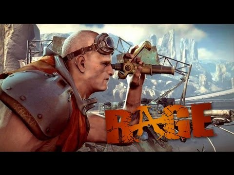 RAGE Gameplay PC - How To Kill Creatures