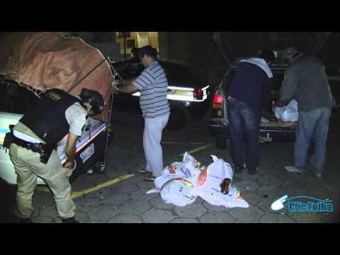 TV Clic Folha - Polícia apreende arma e encontra rinha de galo em Cássia