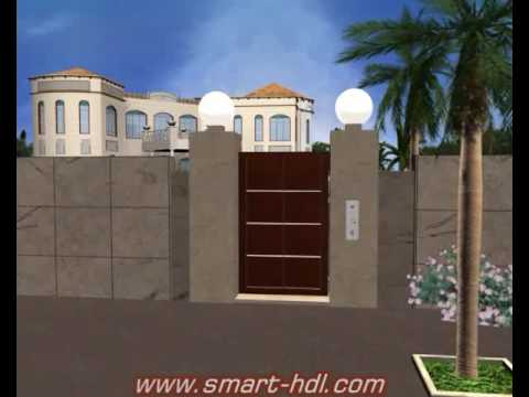 3D smart Home Automation Walk through.flv