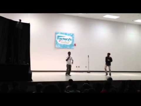 Mekhi Dancing @School