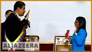 🇻🇪 Venezuela's Nicolas Maduro sworn in for a new term | Al Jazeera English - ALJAZEERAENGLISH