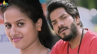 Noel Flirting A Girl in Bus Stop | Enduko Emo | Latest Telugu Movie Scenes | Sri Balaji Video - SRIBALAJIMOVIES