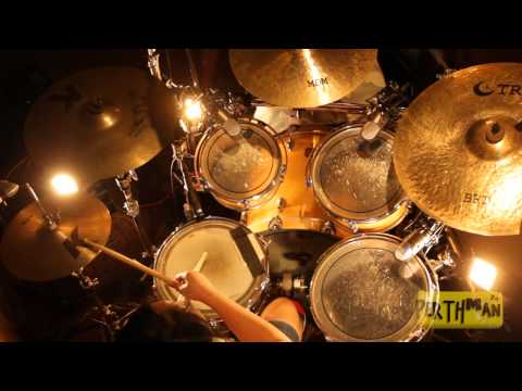 Karmi Santiago - A Christmas Rock Medley (Richard Campbell Drum Cover)