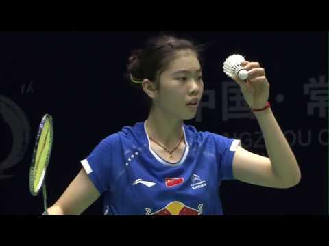 China Masters 2017 | Badminton SF M4-WS | Gao Fangjie vs Aya Ohori