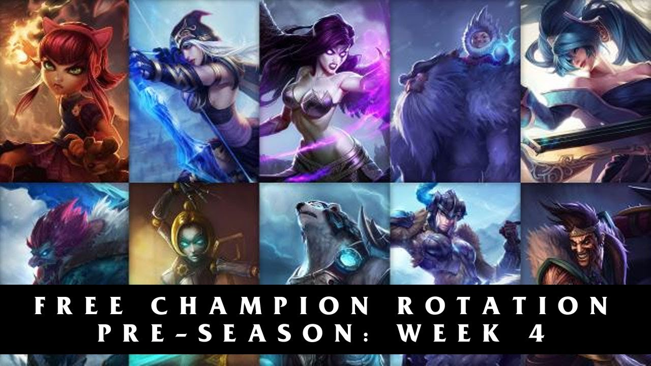 Free League of Legends Champions Season 4 | Pre-Season Week 4