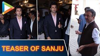 Ranbir Kapoor & Rajkumar Hirani ARRIVE For The Much Awaited Teaser Of SANJU - HUNGAMA