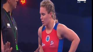 PWL 3 Day 11:Vasilisa Marzialiuk VS Zsanett Nemeth  at Pro Wrestling League 2018 | Full Match - NEWSXLIVE