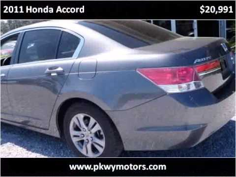 2011 Honda Accord Used Cars Panama City FL