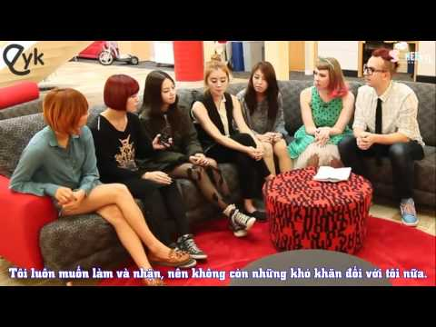 [SHVN][VietSub] Interview The WonderGirls @ EatYourKimchi - Part I
