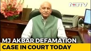 MJ Akbar's Defamation Case Against Journalist Over #MeToo In Court Today - NDTV