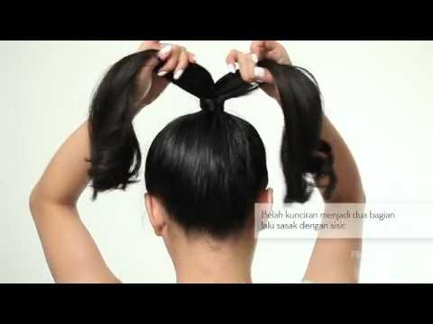 BEAUTY VIDEO: Step By Step Sanggul Bentuk Pita ala Lady Gaga!