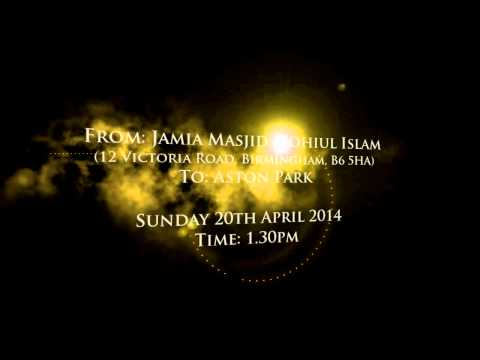 UK's LARGEST Milad Procession & Event | Birmingham, 20th April 2014 | Shaykh ul Aalam & Noor TV