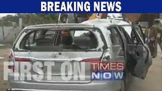 Tamil Nadu Minister OS Manian's convoy attacked in Nagapattinam - TIMESNOWONLINE