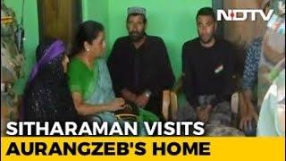 "Killed Soldier Aurangzeb's Family ""Inspiration"", Says Nirmala Sitharaman - NDTV"