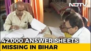 Thousand Of Bihar Matric Answer Sheets Missing, Results Postponed - NDTV