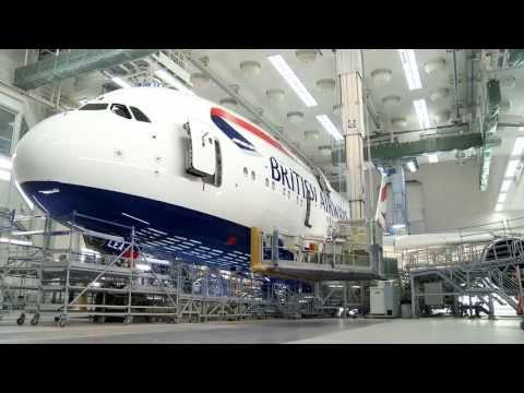 British Airways' first Airbus A380 colours - Unravel Travel TV