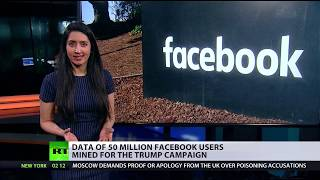 Largest leak in Facebook history: Data of 50 mn users mined for Trump campaign - RUSSIATODAY