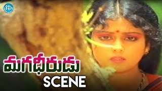 Magadheerudu Movie Scenes - Chiranjeevi Fights With Goons || Jayasudha - IDREAMMOVIES