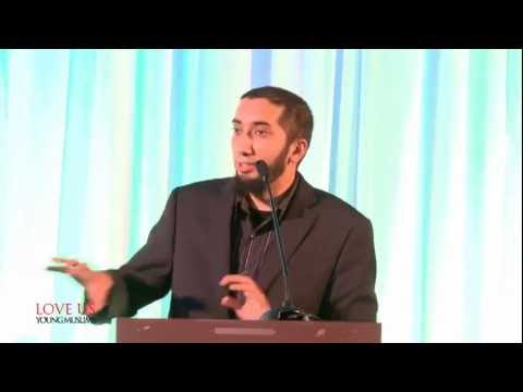 When my Daughter was in Pre-School...FUNNY Nouman Ali Khan...