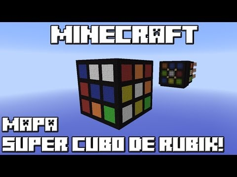 Minecraft Mapa SUPER CUBO DE RUBIK!