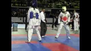 Taekwondo hollanda maçı 2