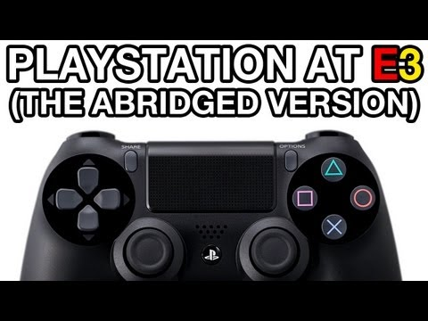 Playstation at E3: The Abridged Version (VideoGamer.com)